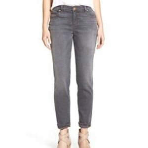 Eileen Fisher Gray Skinny Jeans